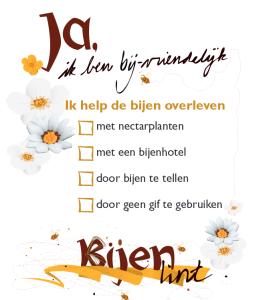 bijenlint poster